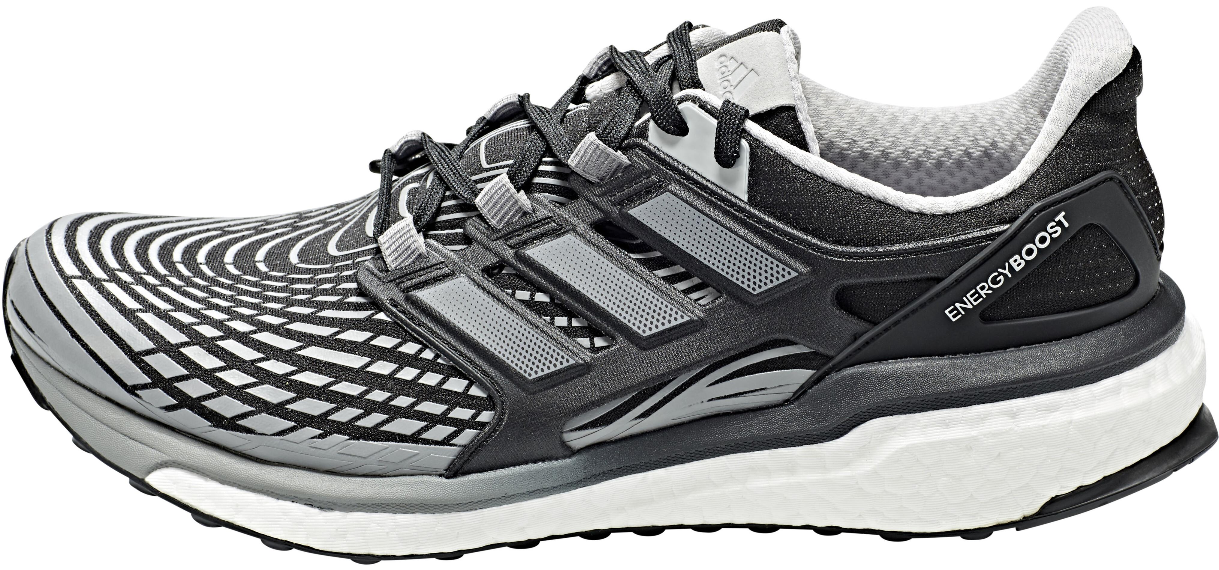 info for 34fdf 09fc2 adidas Energy Boost Hardloopschoenen Heren grijszwart